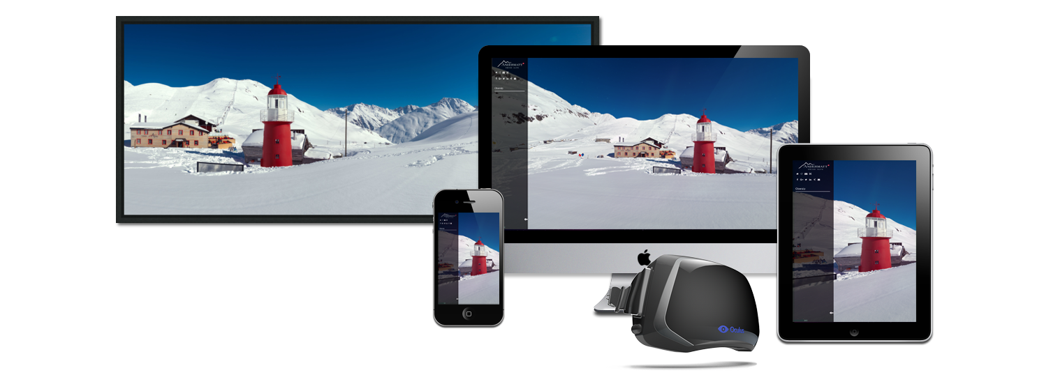 360° Video & Panorama productions for multiple gadgets like computers, phones, VR goggles