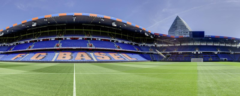 Stadion-St.Jakob-Park Basel, the home stadium of FC Basel the leading football club in Switzerland.